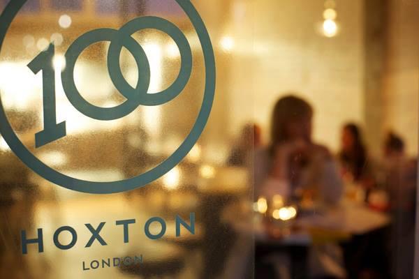 100 Hoxton מסעדה בלונדון